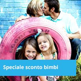 offerta speciale per famiglie