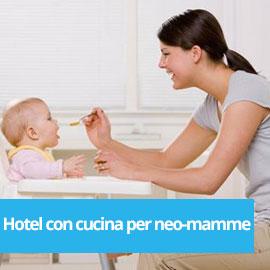 Hotel attrezzato per neo-mamme a Rimini